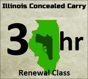 3 Hour Concealed Carry Renewal Course